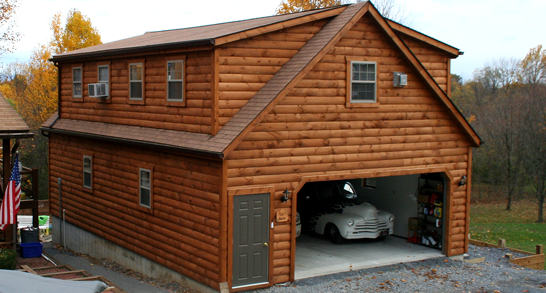 Different type of garages with living quarters blog for Prefab double garage