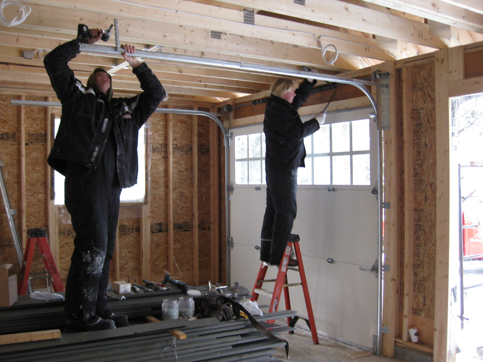garage door installation in nj with competitive installation cost rh asapgaragedoorsrepair com wiring new garage lights wiring a new garage layout
